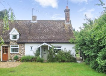 Thumbnail 2 bed cottage for sale in Lackford, Bury St Edmunds, Suffolk