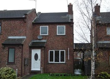 Thumbnail 2 bed semi-detached house to rent in New Millgate, Selby
