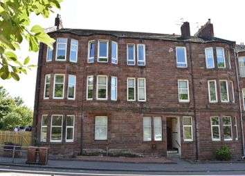 Thumbnail 1 bed flat for sale in Flat 1/2 5 Dumbarton Road, Bowling
