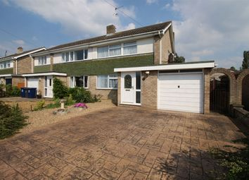 Thumbnail 3 bed semi-detached house for sale in Hazel Way, St. Ives, Huntingdon