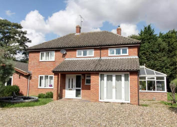 Thumbnail 4 bed detached house to rent in Mill Lane, Gt Blakenham