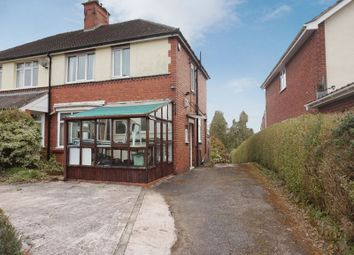 Thumbnail 3 bed semi-detached house for sale in Gravelly Bank, Lightwood, Stoke-On-Trent, Staffordshire