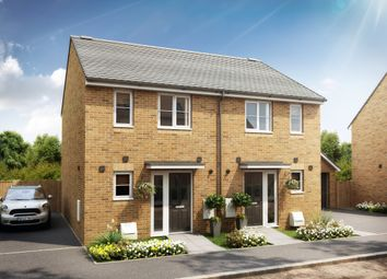Thumbnail 2 bedroom semi-detached house for sale in Longcot Road, Shrivenham, Swindon