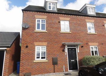 Thumbnail 3 bed mews house to rent in Jamestown Avenue, Chapelford, Warrington