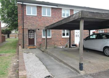 Thumbnail 2 bed semi-detached house to rent in Sevenoaks Close, Romford