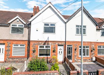 Thumbnail 2 bed terraced house for sale in Hallfields Road, Warrington, Cheshire
