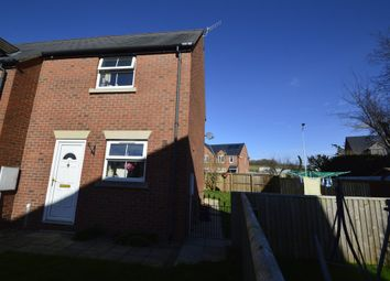Thumbnail 2 bed end terrace house to rent in Fir Court Avenue, Church Stoke, Montgomery
