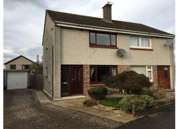 Thumbnail 2 bed semi-detached house for sale in Mackenzie Park Gardens, Inverness