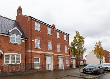 Thumbnail 4 bed town house to rent in Hallam Fields Road, Birstall, Leicester