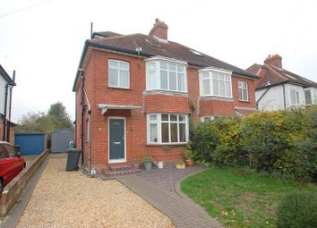 Thumbnail 4 bed semi-detached house for sale in Village Road, Alverstoke, Gosport