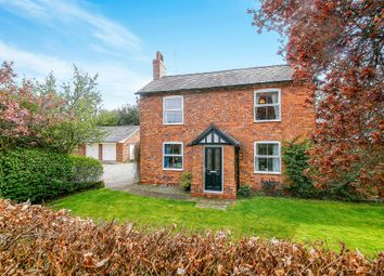 Thumbnail 3 bed detached house for sale in Nantwich Road, Broxton, Chester