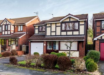 Thumbnail 4 bed detached house for sale in Swansmede Way, Stirchley, Telford