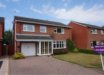 Thumbnail 4 bed detached house for sale in Sutton Road, Shrewsbury