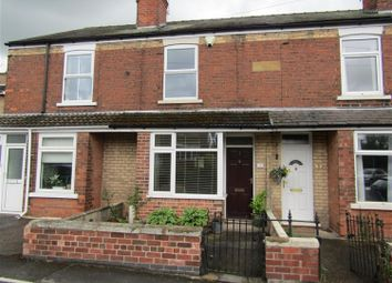 Thumbnail 2 bed terraced house for sale in Croftson Terrace, Sidsaph Hill, Walkeringham, Doncaster
