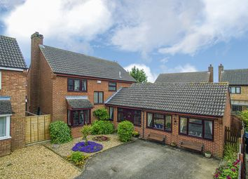 Thumbnail 4 bed detached house for sale in Great North Road, Eaton Ford, St Neots, Cambridgeshire