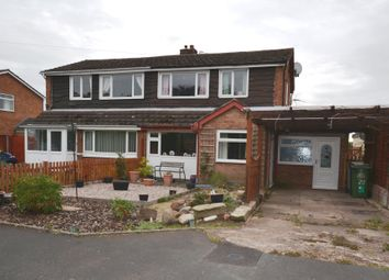 Thumbnail 3 bed semi-detached house for sale in Bartons Road, Market Drayton