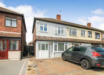 Thumbnail 2 bed semi-detached house for sale in Berwick Road, Rainham