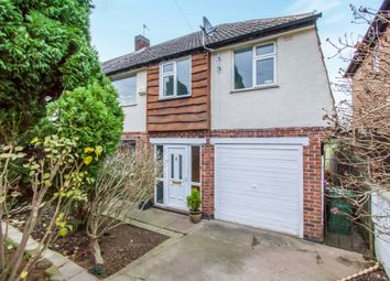 Thumbnail 4 bedroom semi-detached house for sale in Elizabeth Drive, Oadby, Leicester