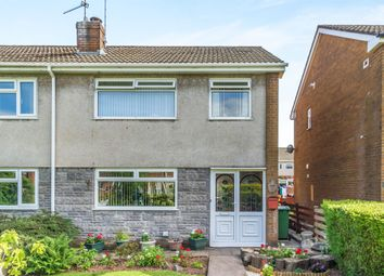 Thumbnail 3 bed semi-detached house for sale in Springwood, Llanederyn, Cardiff