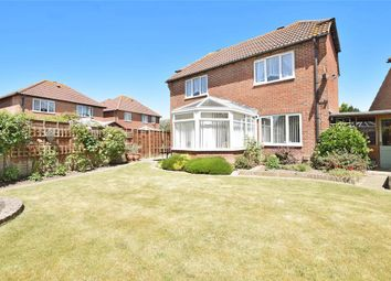 Thumbnail 3 bed detached house for sale in Cowdray Close, Rustington, West Sussex