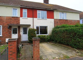 Thumbnail 3 bed terraced house for sale in Chaucer Road, Great Yarmouth, Norfolk