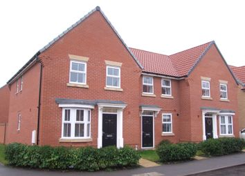 Thumbnail 3 bed end terrace house for sale in Gilbert Road, Saxmundham, Suffolk