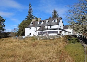 Thumbnail Hotel/guest house for sale in Overscaig House Hotel, Loch Shin, Lairg, Sutherland