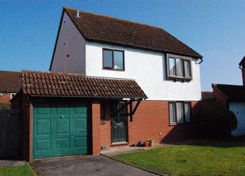 Thumbnail 3 bed detached house for sale in Gaisford Close, Hereford