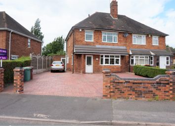 Thumbnail 3 bed semi-detached house for sale in Alexander Road, Walsall