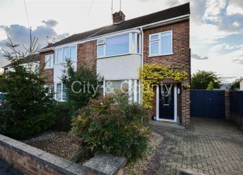 Thumbnail 3 bedroom semi-detached house for sale in Mead Close, Walton, Peterborough