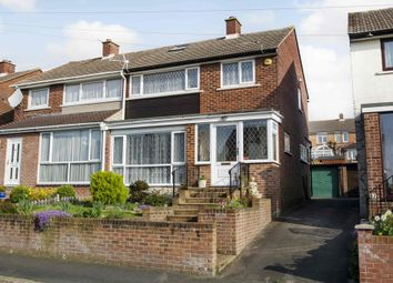 Thumbnail 3 bedroom semi-detached house for sale in Courtmount Grove, Cosham, Portsmouth