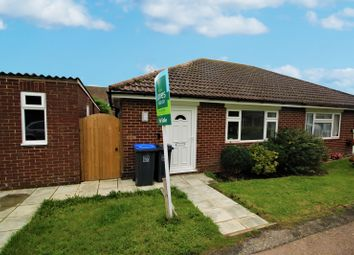 Thumbnail 2 bed bungalow to rent in Pemberton Close, Lancing