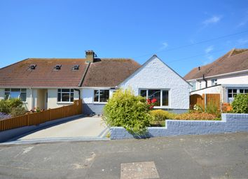 Thumbnail 3 bed semi-detached bungalow for sale in Stanbury Crescent, Folkestone, Kent