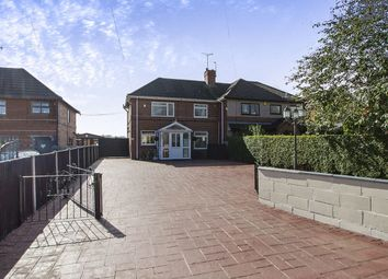Thumbnail 3 bed semi-detached house for sale in Belper Road, Stanley Common, Ilkeston