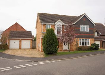 Thumbnail 4 bed detached house for sale in Russell Drive, Spalding