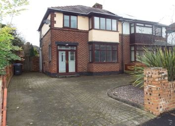 Thumbnail 3 bed property to rent in Derby Road, Salford
