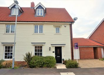 Thumbnail 3 bed semi-detached house for sale in Butterfly Trail, Colchester