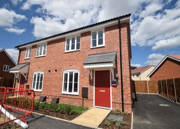 Thumbnail 2 bed semi-detached house for sale in Coachmaker Way, Hethersett, Norwich