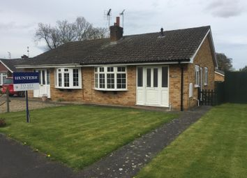 Thumbnail 2 bed semi-detached bungalow to rent in Parkfield, Stillington, York