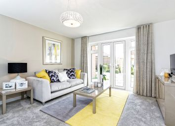 Thumbnail 4 bedroom link-detached house for sale in Broadmere Road, Beggarwood, Basingstoke