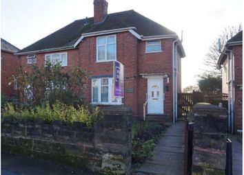 Thumbnail 3 bed semi-detached house for sale in Edward Street, Walsall