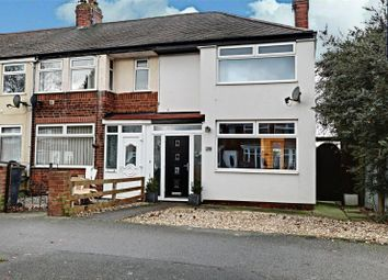 Thumbnail 2 bed end terrace house for sale in Welwyn Park Drive, Hull, East Yorkshire