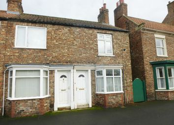 Thumbnail 2 bed end terrace house to rent in Conroy Close, Long Street, Easingwold, York