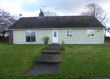 Thumbnail 3 bed detached bungalow to rent in Llandeloy, Haverfordwest