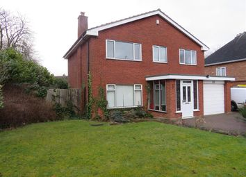 Thumbnail 4 bed detached house to rent in Station Road, Pelsall, Walsall