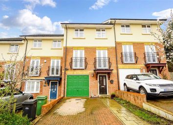 Thumbnail 4 bed terraced house for sale in Etchingham Drive, St. Leonards-On-Sea, East Sussex