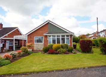 Thumbnail 2 bed detached bungalow for sale in Bracken Close, Stoke-On-Trent
