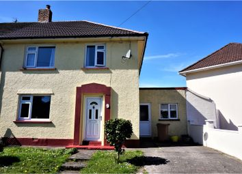 Thumbnail 3 bed semi-detached house for sale in Heol Ganol, Caerphilly