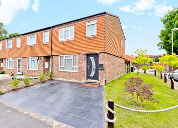 Thumbnail 3 bed end terrace house for sale in Rutland Close, Epsom