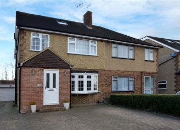 Thumbnail 4 bed semi-detached house for sale in Rutherford Way, Bushey Heath, Bushey, Hertfordshire